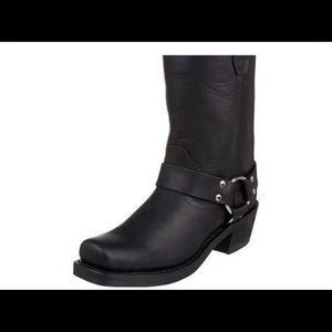 Women's Black leather harness Durango boots size 7